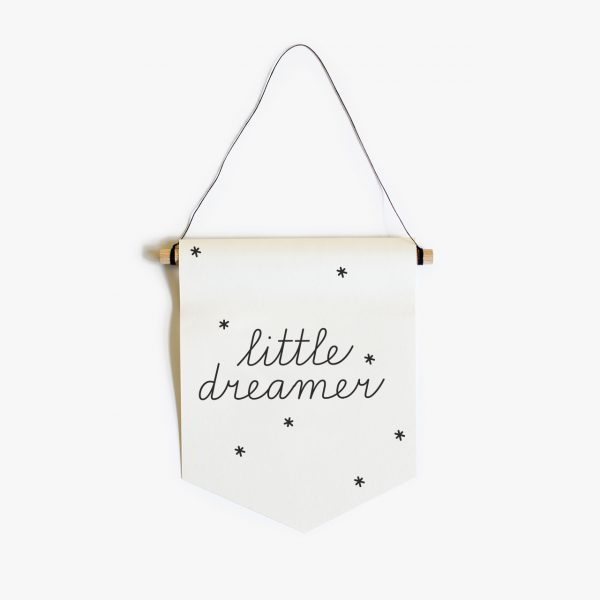 little dreamer paper flag